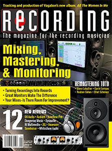Recording Cover